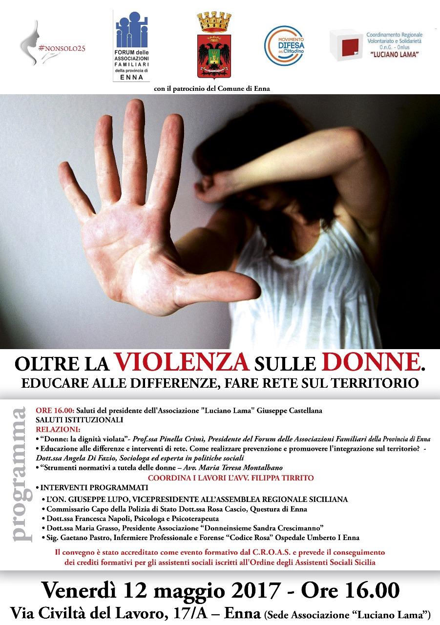 Oltre la violezza sulle donne
